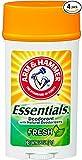 Arm & Hammer Essentials Deodorant, Fresh, 2.5 Oz/pack, 4 pack by Church & Dwight Co., Inc