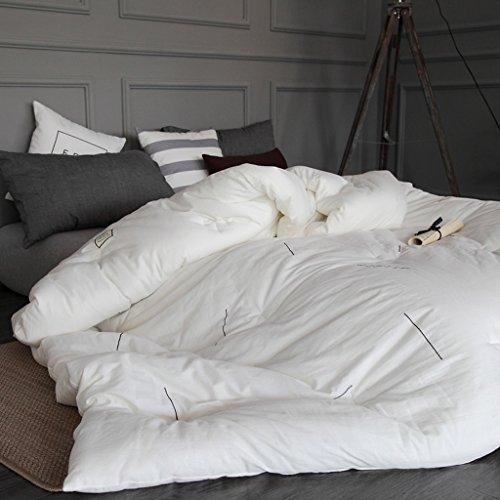 MMM Edredon en coton Hiver plus épais Conserver doux Double conditionnement de l'air conditionné Couvre-lit simple ( taille : 200*230cm(3.5kg) )