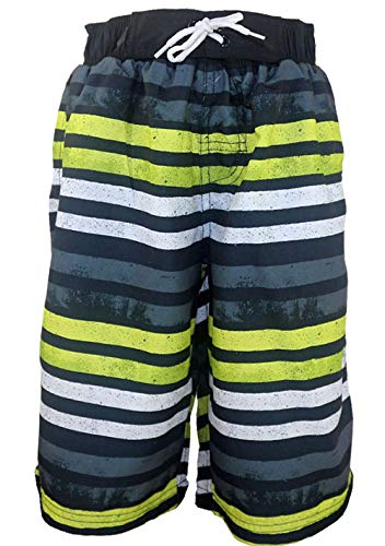 Jungen Gefüttert Swim Trunk (SLGADEN Jungen Swim Shorts Cargo-Taschen Mesh gefüttert atmungsaktiv UPF 50+ Outdoor Sports Surfing Trunks 11-12Y)