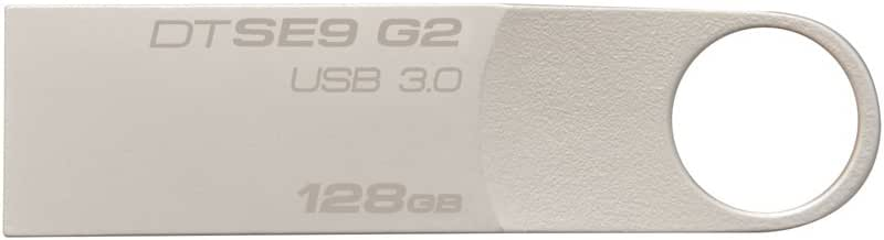 Kingston Kingston DT-SE9G2 Penna Flash USB 3 da 128GB, Argento