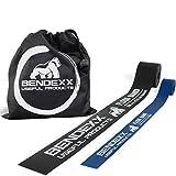 Flossing Band 1,5mm + 1mm im Set von Bendexx, Floss Band für Sport + Reha + Physio, hautverträgliche & strapazierfähige Bendexx Qualität