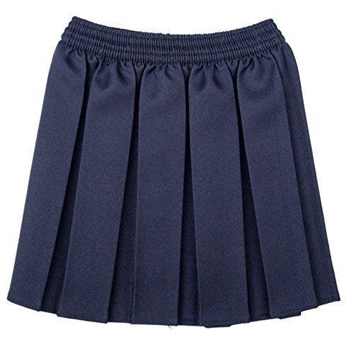 Girls School Uniform pieghettato elastico Gonna Confezione