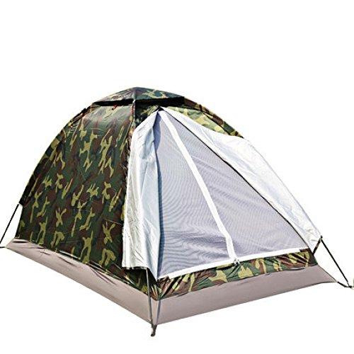 outdoor tent Einstöckiges Einzelzelt Einzelzelt Tarnzelt Ultraleichtes Zelt