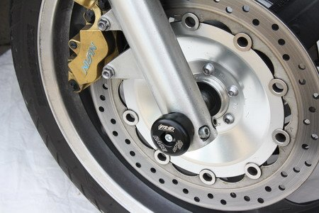 Preisvergleich Produktbild Satz GSG Moto Sturzpads Vorderrad Honda CB 1300-X4 SC38