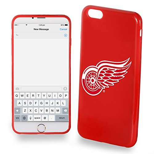 Forever Detroit Red Wings iPhone 6 Plus/6S Plus TPU Silikon Soft Schutzhülle Slim Case