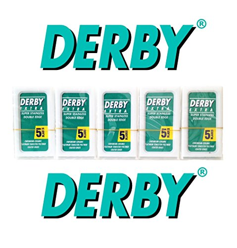 25x Rasierklingen DERBY EXTRA Doppelklingen - Double Edge