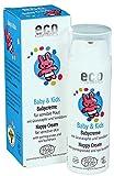 ECO COSMETICS - Crema Pannolino Naturale Baby - Protettiva, Idratante e Nutriente - Profumazione Delicata - 100% Naturale - Vegan - 50 ml