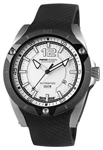 MOMO DESIGN Dive Master Ceramic Automatik Uhr Swiss-Made