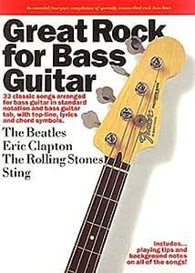 Great Rock For Bass Guitar. Partitions pour Tablature Basse (Symboles d'Accords)