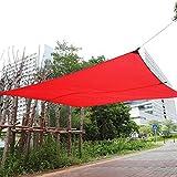 Cocoarm Sun Segel, Rechteck Wasserdicht Garten Terrasse Sonnensegel Shelter Vorzelt Himmel mit Aufbewahrungstasche für Outdoor Innenbereich