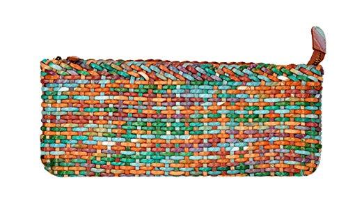Insun - Borsetta senza manici donna multicolore