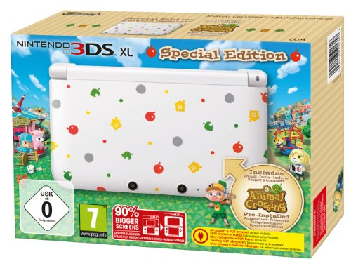 Console Nintendo 3DS XL + Animal Crossing: New Leaf - édition spéciale