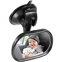 Weitwinkel-R/ücksitzspiegel f/ür Babys und Kleinkinder zur Kindersicherheit AutoEC Baby-Autospiegel