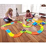 ShopyBucket The Tracks Race Gifts New 165 Pieces of Glow Track