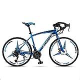 Huoduoduo Fahrrad, Straße Radfahren, 26 Zoll 27 Geschwindigkeit, Material High Carbon Steel, Die Mechanische Vorderen Und Hinteren Scheibenbremsen, Anti-Rutsch-Reifen