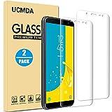 [Lot de 2] Verre Trempé Samsung Galaxy J6 2018 [Couverture Complète], UCMDA Film Protection en Verre Trempé protecteur écran, 3D Touch Anti Résistant Screen Protector pour Samsung Galaxy J6 2018
