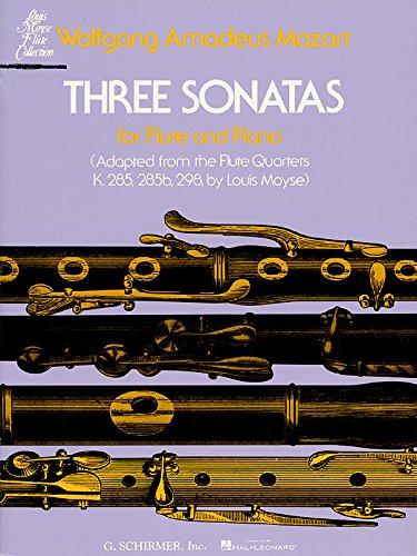 Wolfgang Amadeus Mozart-Three Sonatas-BOOK