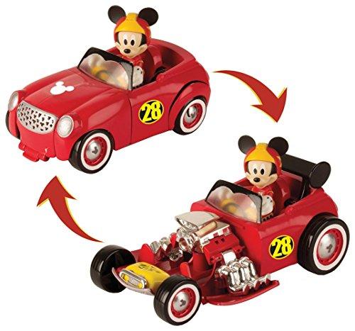 Mickey Mouse-182813 TRANSFORMABLE DOGGIN' Hot Road, Propio 182813