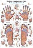 Lehrtafel'Reflexzonen Hand und Fuß', 50x70cm