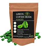 Hollywood Secrets 100% Pure Organic Green Coffee Bean Powder For Weight Loss