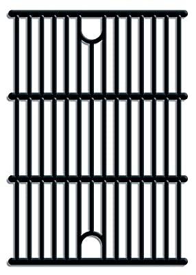 Tepro Universal Guss-Grillrost-Set auch passend für tepro Wellington 3135, Ontario 3135H undverton 3147, 40.8 x 29.1 x 0.5 cm, schwarz, 8588