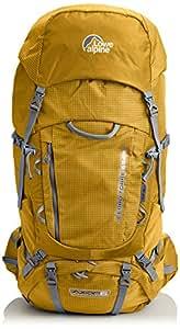 Lowe Alpine Herren Trekkingrucksack Cerro Torre Gold/Zinc 97 x 41 x 37 cm, 65 Liter