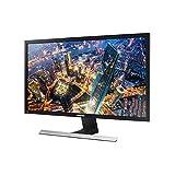 "Samsung U28E570DS 28"" Ultra HD zwart, metallic, zilver flatscreen-PC - flatscreen van PC (71,1 cm (28), 370 CD/M² 3840 x 2160 pixels, 1 MS, LED, 4 K Ultra HD)"
