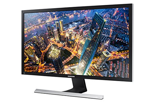 Samsung U28E590D - Monitor para PC Desktop de 28' (3840 x 2160 Pixeles, LED, 4K Ultra HD, TN, 3840 x 2160, 1000:1), color negro y gris