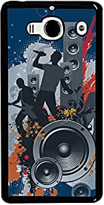 PrintVisa Music Abstract Case Cover for Xiaomi Redmi Note / Note 4G