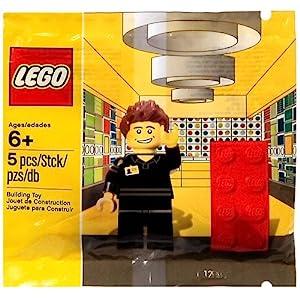 LEGO ESCLUSIVO Negozio Employee minifigure Set 5001622  LEGO