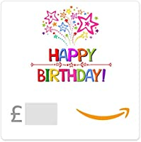Happy Birthday (Stars) - Amazon.co.uk eGift Voucher