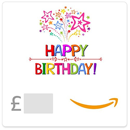 Happy Birthday (Stars) - E-mail Amazon.co.uk Gift Voucher