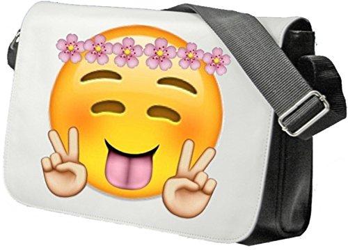 emoji tasche Schultertasche