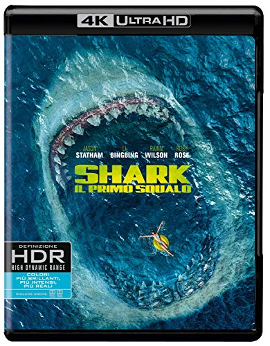 Shark - Il Primo Squalo (4K Ultra HD + Blu Ray)