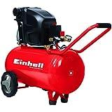 Einhell Compresseur TE AC 270/50/10(1,8kW, 50L, puissance d'aspiration 270L/min, 10bar, ölgeschmiert, grandes roues Arceau de maintien et)