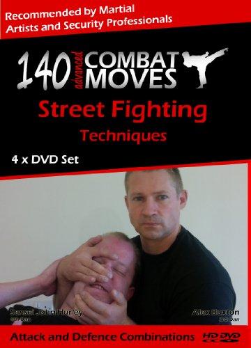 140 Mosse Da Combattimento Avanzate (140 Advanced Combat Moves) 4 x DVD Corso Autodifesa di Studio Familiare - Black Art Corsa