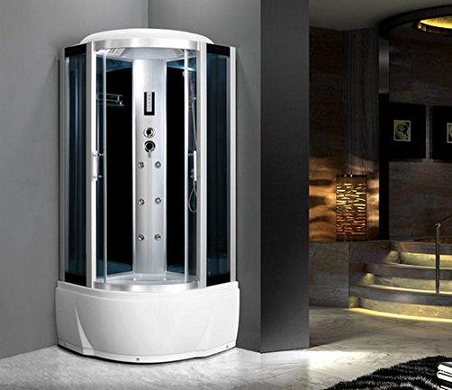 Cabina Doccia Multifunzione Sauna.Cabina Idromassaggio 80x80 6 Getti Con Vasca Box Doccia Multifunzione Sauna Bagno Turco I