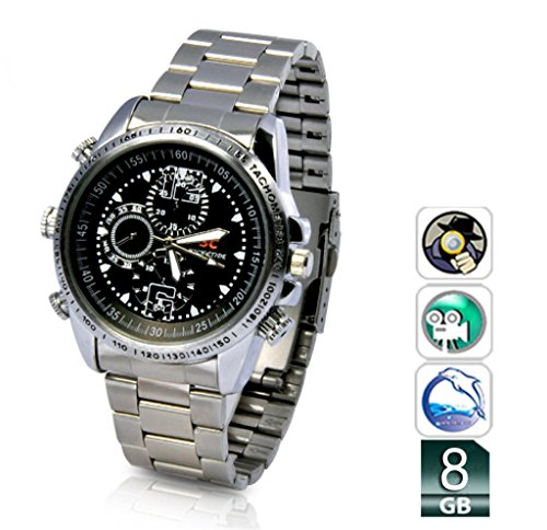 Mengshen® 8GB imprägniern HD Wrist DV-Uhr-Kamera Digital Video 1280 × 960P DVR MS-W01