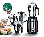 Bosch Appliances TrueMixx Pro Mixer Grinder, 750W, 4 Jars (Black)