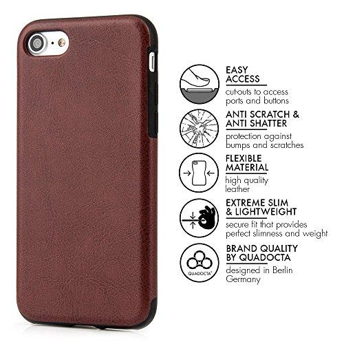 """Case pour iPhone 7 Plus (5,5"""") Coque fine ajustée similicuir PU"""