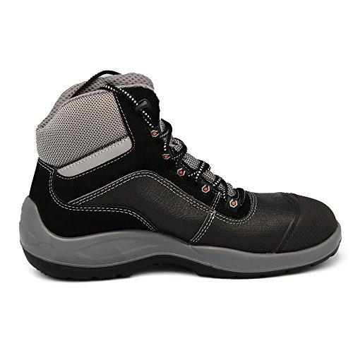 Base S3SRC sicurezza scarpe lavoro scarpe unisex, senza metallo Black