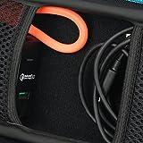 Für Powerbank 20000mAh 3 USB Ports Coolreall 20000 externer Akku Batterie Ladegerät Hart Reise Tragetasche Tasche von Markstore