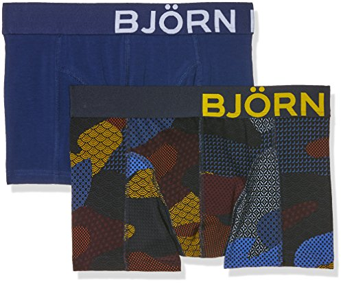 bjorn-borg-bb-contrast-camouflageflouge-pack-of-2-boxer-homme-multicoloured-total-eclipse-large