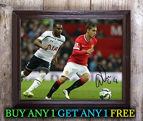 Andreas Pereira Footballer Autographed Signed 8x10 Photo Reprint #04 Special Unique Gifts Ideas for Him Her Best Friends Birthday Christmas Xmas Valentines Anniversary Fathers Mothers Day Andreas 8