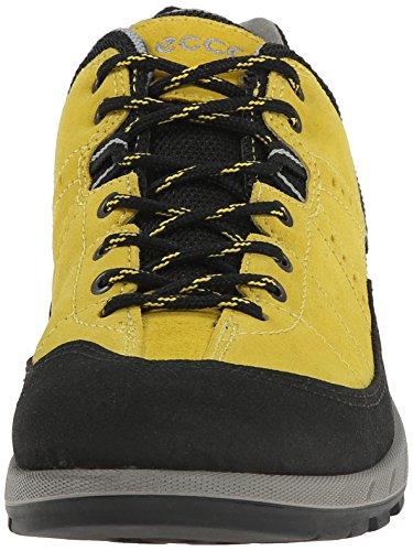 Ecco Ecco Yura Ladies, Chaussures de fitness outdoor femme Jaune - Gelb (BLACK/BAMBOO)