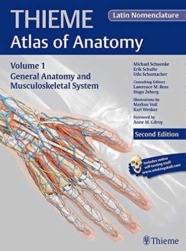 General Anatomy and Musculoskeletal System (Latin) (Thieme Atlas of Anatomy)