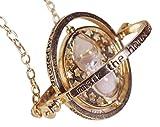 Collana Bianco Turner di Tempo Harry Potter Tema Ciondolo In Borsa Rosso Velluto Regalo