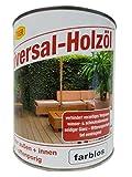 Tiger Universal Holzöl für innen und außen farblos 0,75 Liter