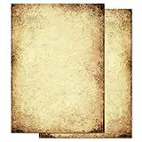 ALTES PAPIER 100 Blatt Flyer-Motivpapier DIN A6 90g/m²