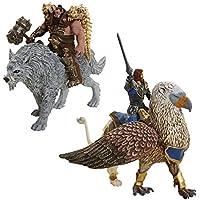 Jakks Pacific - Warcraft Battle In A Box : Lothar Vs Blackhand (PC)